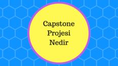 Capstone projesi nedir nasıl hazırlanır