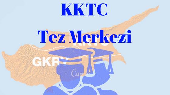 Kıbrıs ödev proje tez merkezi